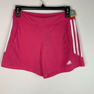 Adidas Hot Pink Regular Fit Shorts Size S NWT